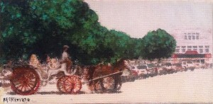 <i>Carriage Joy Ride</i><br /> by McKenzie Snow <br /> <i>$250</i>