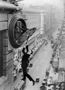 "Harold Lloyd in ""Safety Last!"" (1923) Donated by Turner Classic Movies"