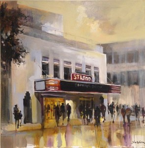 <i>The Strand</i> <br/> by Dirk Walker <br/>Donated by dk Gallery
