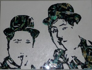 <i>Laurel and Hardy II</i> <br/>By artist Philip Myrick