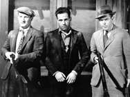 "Leslie Howard, Dick Foran, & Humphrey Bogart in ""The Petrified Forest"" (1936) Donated by Turner Classic Movies"